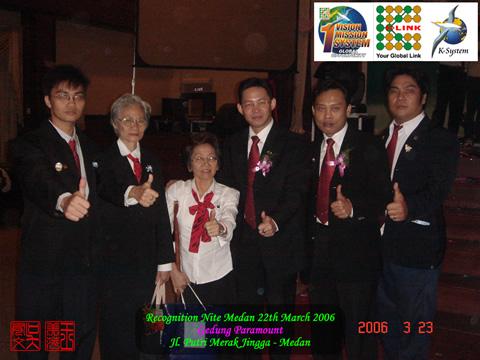 Recognition Nite Medan 3 Maret 2006